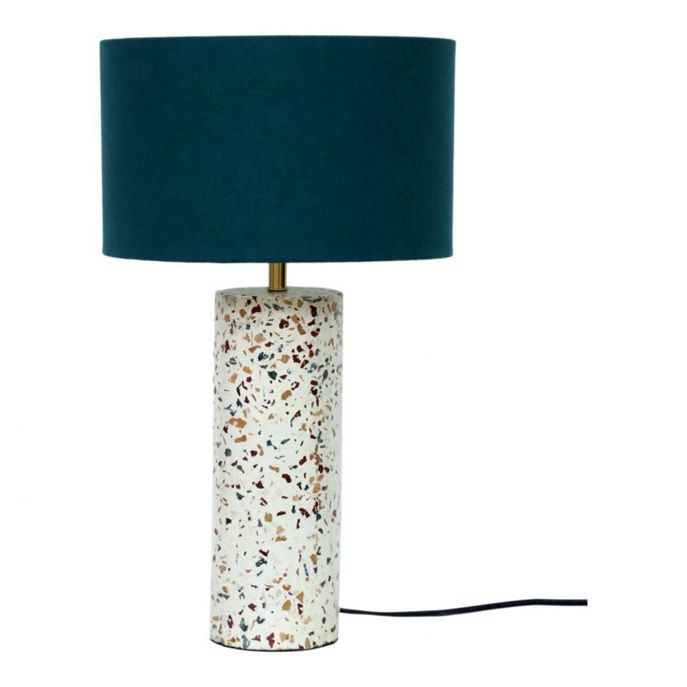 See Details - Terrazzo Cylinder Table Lamp
