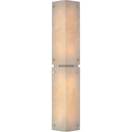 Visual Comfort - AERIN Clayton LED 6 inch Alabaster and Polished Nickel Wall Sconce Wall Light