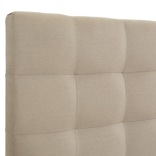 Bergen King Headboard Only, Sandstone Linen