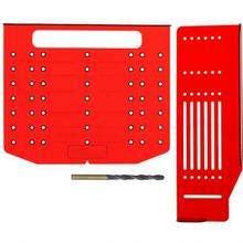 """See Details - Retail Packaged Drill Template With 3/16""""Drill Bit"""