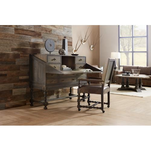 Hooker Furniture - Hill Country Boerne Ranch Managers Desk