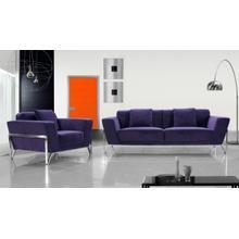 Divani Casa Trenton- Modern Fabric Sofa Set