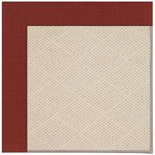 Creative Concepts-White Wicker Dupione Henna Machine Tufted Rugs