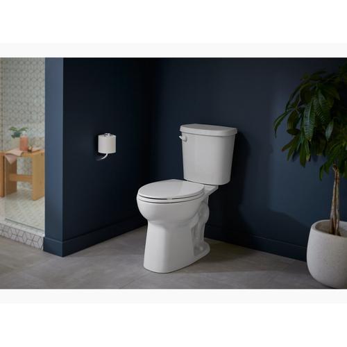 Vibrant Brushed Nickel Vertical Toilet Paper Holder