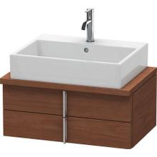 View Product - Vanity Unit For Console Compact, American Walnut (real Wood Veneer)