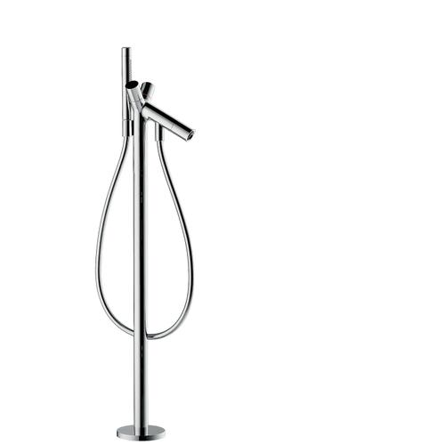 Brushed Black Chrome 2-handle bath mixer floor-standing