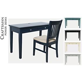 Craftsman Power Desk and Chair Set