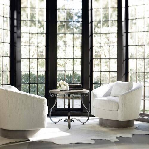Gallery - Villa Toscana Round Side Table in Criollo (302)