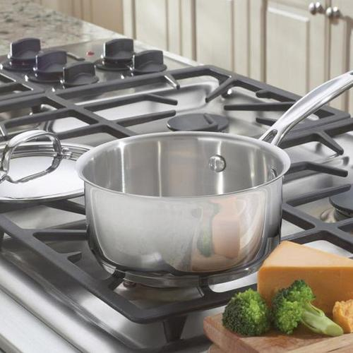 Chef's Classic Stainless 1.5 Quart Saucepan with Cover