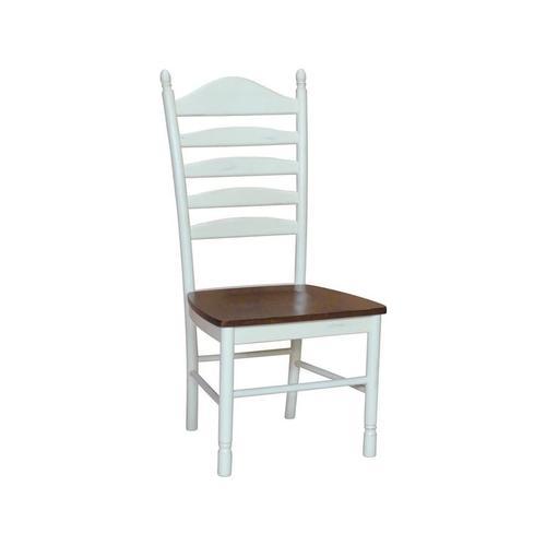Gallery - Ladderback Chair in Espresso & Alabaster