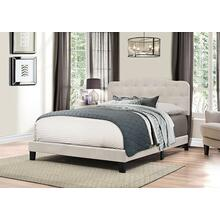 Nicole Bed In One - Queen- Fog