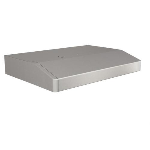 Product Image - Broan® Elite 36-Inch Convertible Under-Cabinet Range Hood, Stainless Steel