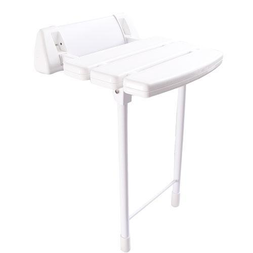 """Product Image - 14"""" Wall Mounted Shower Seat"""