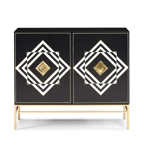 Hickory White - Aimee Hall Chest - Gold