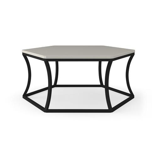 Bassett Furniture - Caroline Hexagon Cocktail Table
