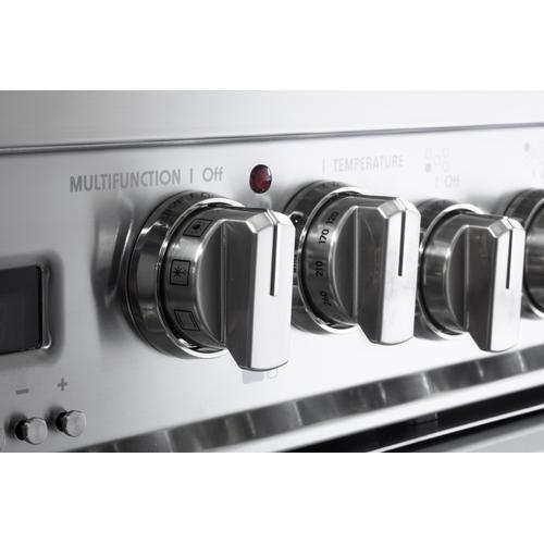 "White 36"" Prestige Dual Fuel Double Oven Range"