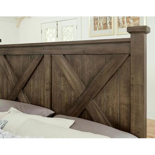 Artisan & Post Solid Wood - X Bed with Footboard Storage