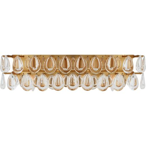 AERIN Liscia 4 Light 23 inch Gild Vanity Sconce Wall Light