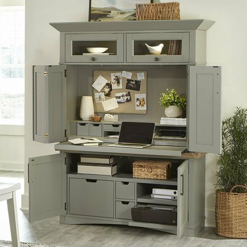 Product Image - AMERICANA MODERN - DOVE Workstation with LED Light