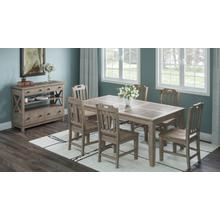 Prescott Park High/low Ext Table W/(4) Handhold Chairs