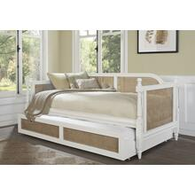 Melanie Daybed Trundle - White