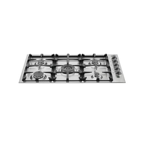 Product Image - 36 Drop-In Low Profile 5 Burners Stainless Steel
