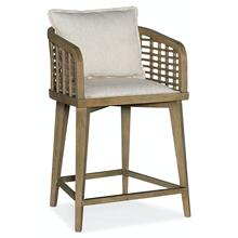 Dining Room Sundance Barrel Back Counter Stool
