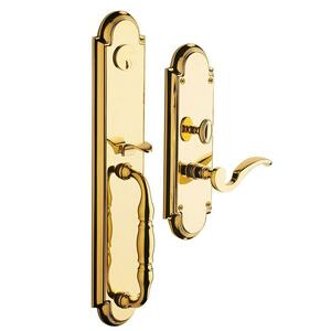 Lifetime Polished Brass Hamilton Entrance Set Product Image