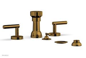 TRANSITION - Four Hole Bidet Set 120-61 - French Brass Product Image