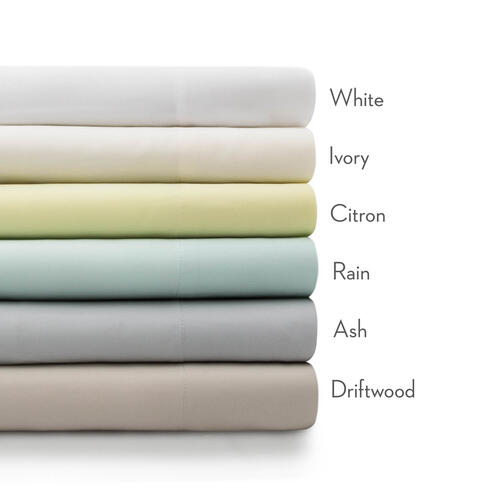 Rayon From Bamboo King Pillowcase Ivory