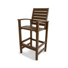 View Product - Signature Bar Chair in Mahogany