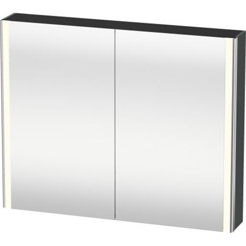 Mirror Cabinet, Dolomiti Gray High Gloss (lacquer)
