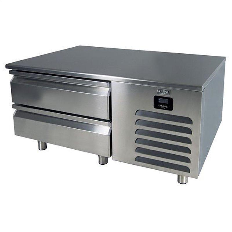 """48"""" Freezer Base With Stainless Solid Finish (115v/60 Hz Volts /60 Hz Hz)"""