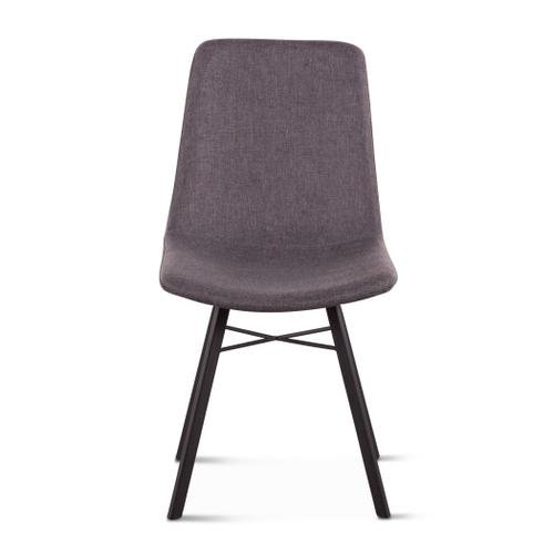 Product Image - Sam Dark Gray Linen Dining Chair