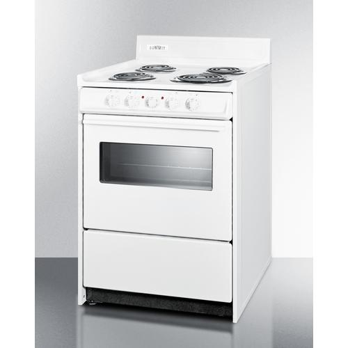 "24"" Wide Electric Coil Top Range"