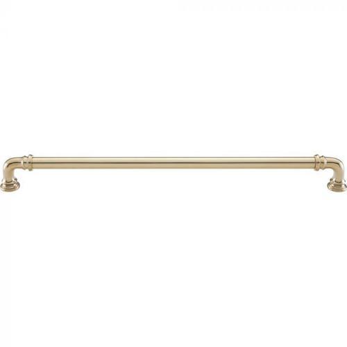 Vesta Fine Hardware - Ronan Pull 12 Inch (c-c) Unlacquered Brass Unlacquered Brass