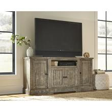 "72"" Console - Weathered Gray Finish"