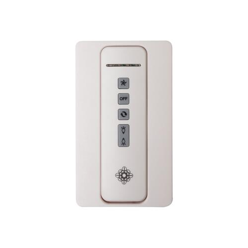 Hand-held 4-speed remote control,TRANSMITTER ONLY. Fan reverse, speed, and uplight/downlight control.