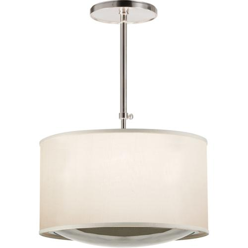 Visual Comfort - Barbara Barry Reflection 4 Light 24 inch Soft Silver Hanging Shade Ceiling Light