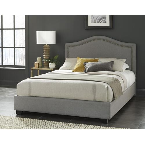 King Midnight Gray Headboard