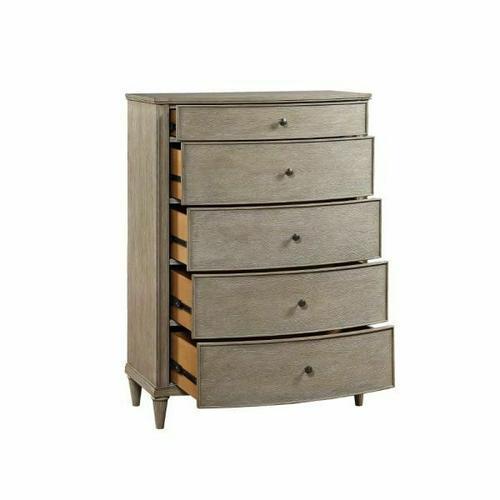 ACME Wynsor II Chest - 27736 - Transitional - Wood (Pine/Poplar), Wood Veneer (Oak), MDF,PB - White-Washed