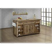 3 Drawer & 4 Doors, Kitchen Island Product Image