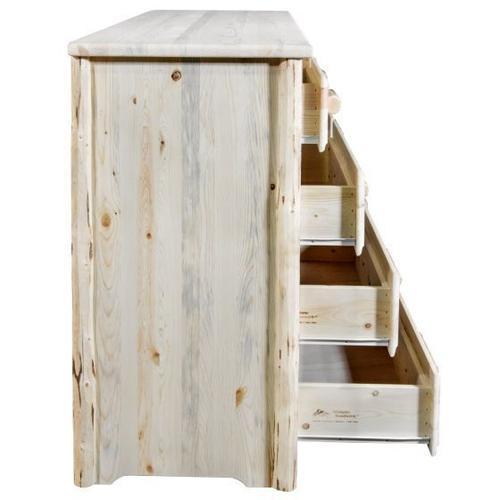 Montana Woodworks - Montana Collection 9 Drawer Dresser