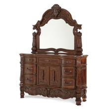 See Details - Storage Console- Dresser With Mirror