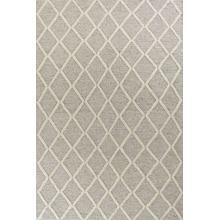 View Product - Cortico 6161 Grey Diamonds Area Rug 5' X 7'