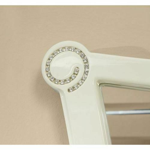 ACME Bellagio Mirror - 20394 - Ivory High Gloss
