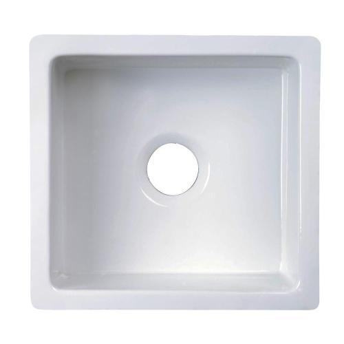 Silvia Single Bowl Fireclay Kitchen Sink