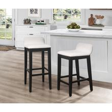 Maydena Wood Bar Height Stool, Black