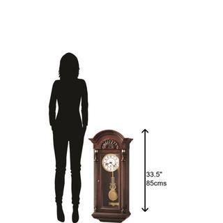 See Details - Howard Miller Jennison Chiming Wall Clock 612221