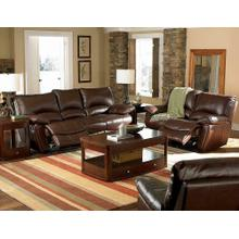 Clifford Motion Dark Brown Reclining Two-piece Living Room Set